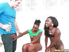 Booty Ebony Sluts Show Their Charms 1