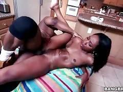 Sexy Ebony Girl Enjoys Good Pounding 3
