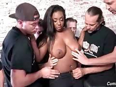 Ebony Lisa Tiffian Starves For White Dicks 2