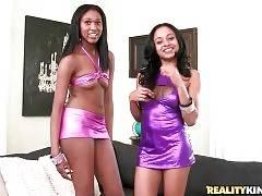 Ebonies Anya Ivy And Lola Show Their Booties 1