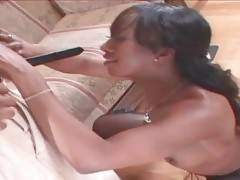 Ebony Stacey Cash Is Very Much Cock Hungry 1
