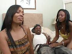 What could possibly be better than watching two hot ebony chicks double teaming a cock? Anita Peida and DVae are horny black women that love to share and in this update, you will be watching these ladies get down and dirty, sharing Anitas boyfriend. Anita
